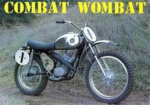 Vintage Hodaka Combat Wombat Motorcycles : VintageMX.net