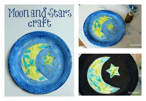paper plate moon ramadan craft nurturestore 469 | ramadan craft crescent moon craft