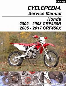 Honda Crf450r Honda Crf450x Print Motorcycle Service