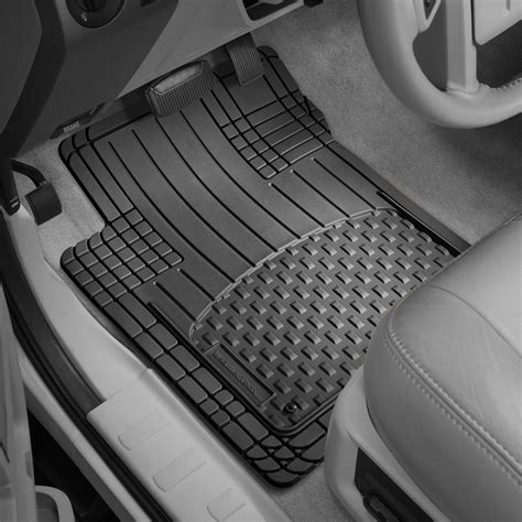 weathertech floor mats universal weathertech 174 11avmsb avm 1st 2nd row footwell coverage black floor mats