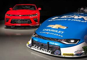 Here's the first NHRA Funny Car based on the 6th-gen Camaro