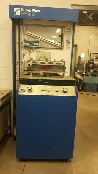 Superflow Bench by Superflow Sf600 Flow Bench For Sale In Huron Mi