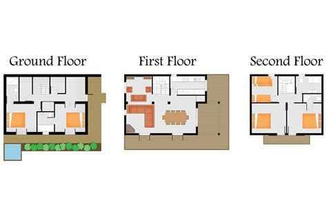chalet floor plans ski chalet holidays in les trois canards chatel