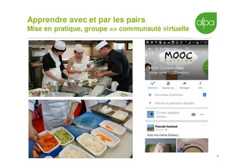 afpa cuisine retour d 39 expérience mooc cuisine afpa