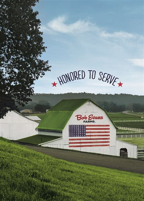 Bob Evans Farms Restaurants Honored To Serve Heroes on ...