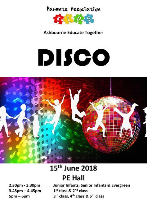 summer disco ashbourne educate national school