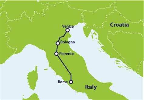 rome  venice  train eurailcom