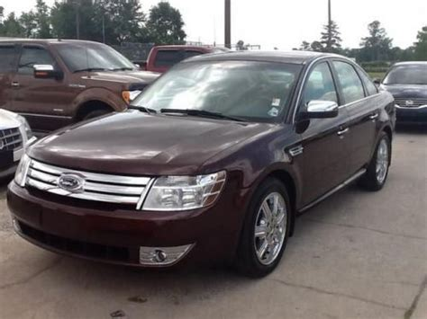 automobile air conditioning repair 2009 ford taurus auto manual sell used 2009 ford taurus limited in 1620 beglis pkwy sulphur louisiana united states