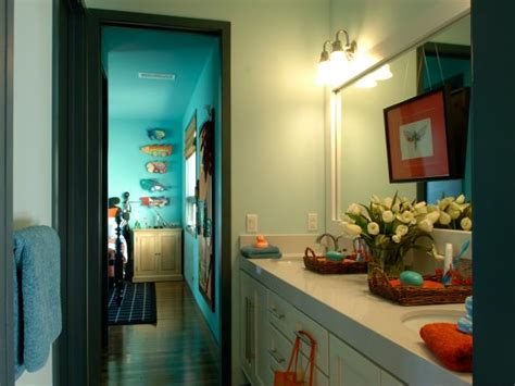 stylish bathroom designs  kids hgtv