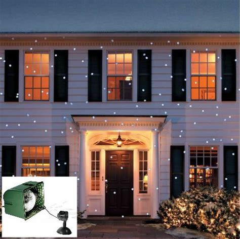 light flurries snowflake projector light projector for decorating outdoors