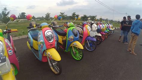 Scoopy R17 2017 by 83 Modifikasi Scoopy 2013 Otomotif