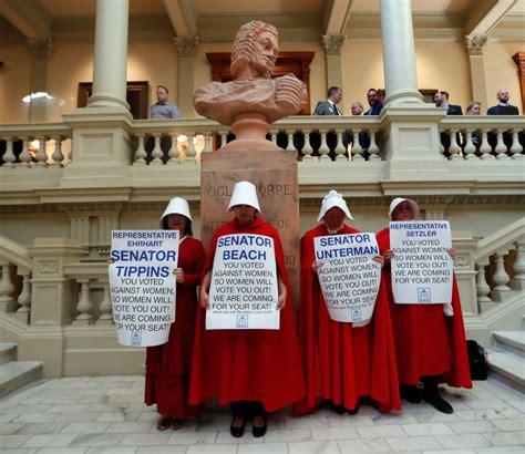 hollywood vow  boycott georgia   abortion law