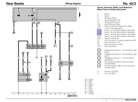 2002 vw new beetle fuse box diagram wiring diagrams