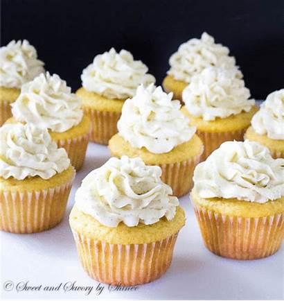 Cupcakes Vanilla Sprinkles Bean Cupcake Rainbow Sweet