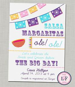 fiesta bridal shower printable invitation couples shower With free printable mexican wedding invitations