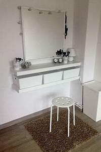 Schminktisch Hocker Ikea : schminktisch ganz einfach selbst machen dazu brauchst du ~ A.2002-acura-tl-radio.info Haus und Dekorationen