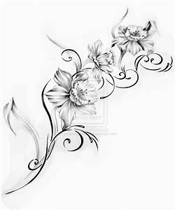 Flower Tattoo Design 2 by inkaddicted4life on DeviantArt