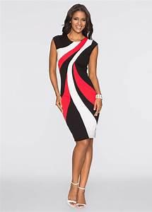 Bon Prix De Online Shop : kleid multi color schwarz wei rot bodyflirt boutique jetzt im online shop von ab ~ Bigdaddyawards.com Haus und Dekorationen