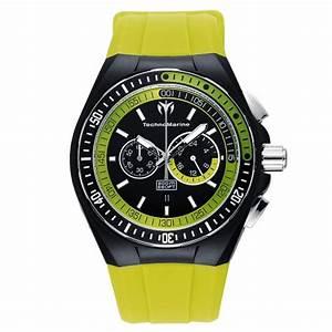 Range Montre Homme : technomarine 110019 montre homme quartz chronographe bracelet caoutchouc noir ~ Teatrodelosmanantiales.com Idées de Décoration