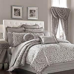 j queen new york luxembourg comforter set in antique silver bed bath beyond