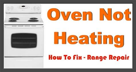 Kitchenaid Oven Not Heating Up by Electric Oven Will Not Heat Removeandreplace