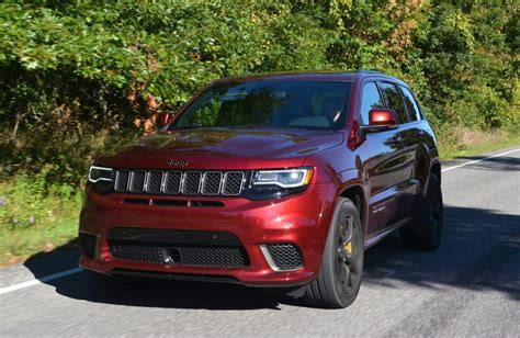 2019 Jeep Grand Cherokee Trackhawk Review Gtspirit