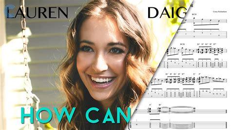 piano     lauren daigle sheet