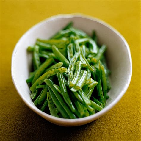 french cut green beans  dill butter
