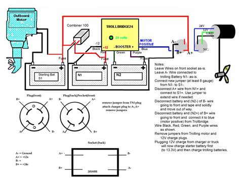 Motorguide 12 Volt Wiring Diagram by Wiring A 24 Volt Trolling Motor Impremedia Net