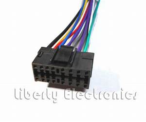 New Car Stereo Wire Harness For Jvc Kd  Kd
