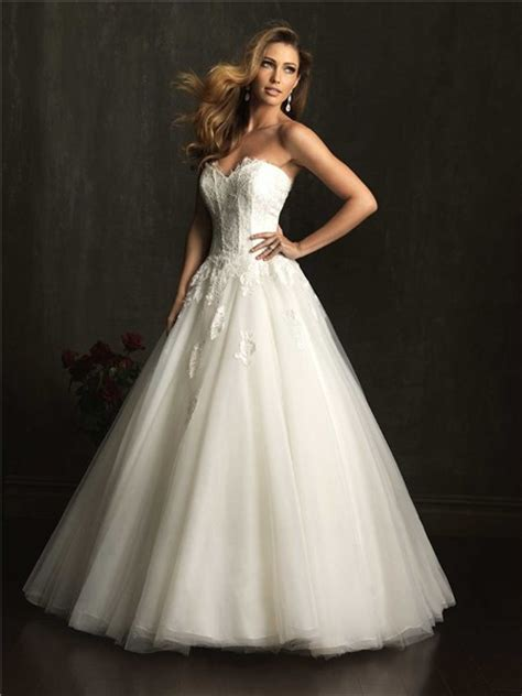 princess ball gown sweetheart tulle lace corset wedding