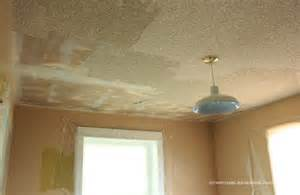 how to scrape off popcorn ceiling for the home that i