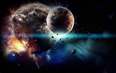 Planet Explosion Wallpapers Earth Space Explode Exploding