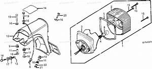 Honda Motorcycle 1980 Oem Parts Diagram For Taillight