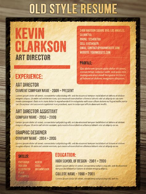 21 Stunning Creative Resume Templates by Phuket Resume Collection And Creative Design 21 Stunning Creative Resume Templates