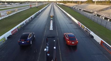 Tesla Drag Race News