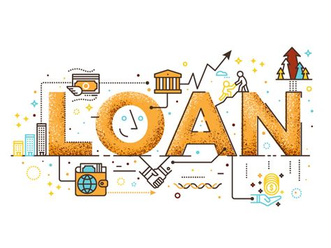 Loan Icon Illustration By Becris