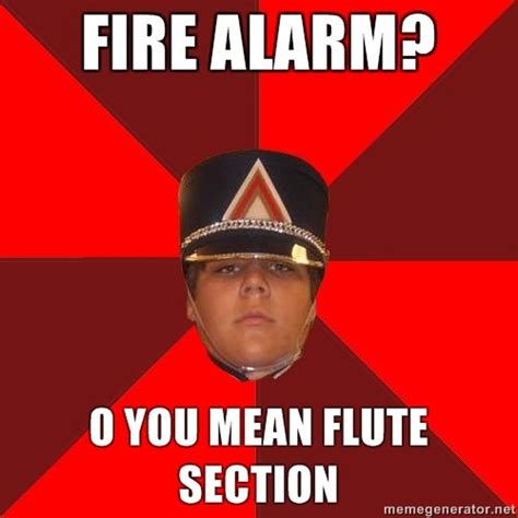 Flute Memes - i play the flute and i find this funny because we are just waaaay to loud i guess band
