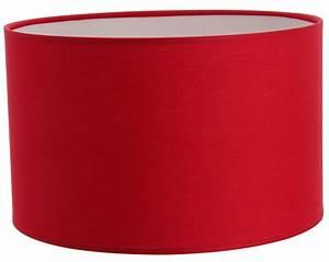 Abat Jour Rouge : abat jour cylindre rouge abat jour forme cylindrique e metropolight ~ Teatrodelosmanantiales.com Idées de Décoration