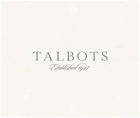 Talbots re-designed logo • Jason Petrisko