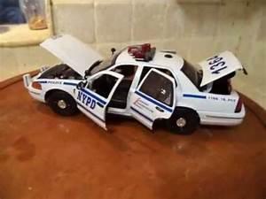 Scale Model Police Lights N Y P D New York Police Car 1 18 Scale Custom Built