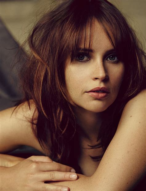 Felicity Jones - Photoshoot for The Hollywood Reporter ...