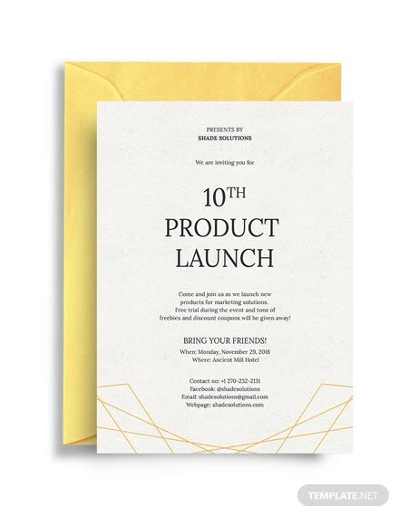 30+ Best Business Invitations PSD AI Vector EPS