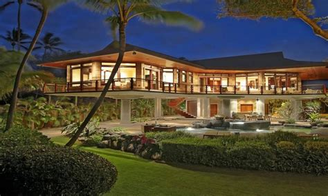 Beachfront Home Casual Style by Hawaii Beachfront Home Design Luxury Homes In Hawaii