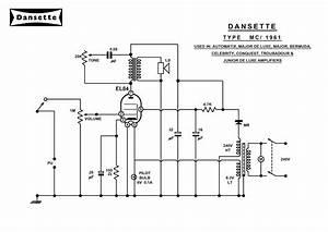 Dansette Workshop  A4 Circuit Diagrams For Mc1961 And Dt