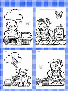 Teddy Bear Picnic Coloring Pages Free And Fun