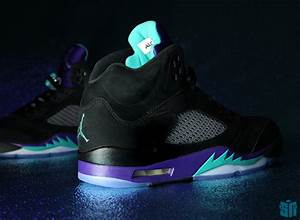"Air Jordan V ""Black Grape"" - Beauty Shots - SneakerNews.com"