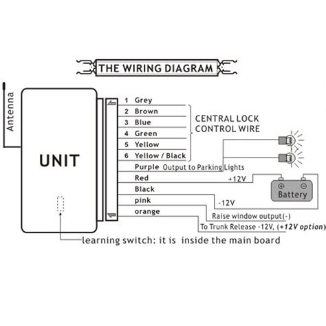 Wire Trunk Release Relay Wiring Diagram