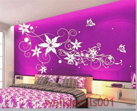 Flower Wall Decals Wall Stickers,wall Decor,,wall Art
