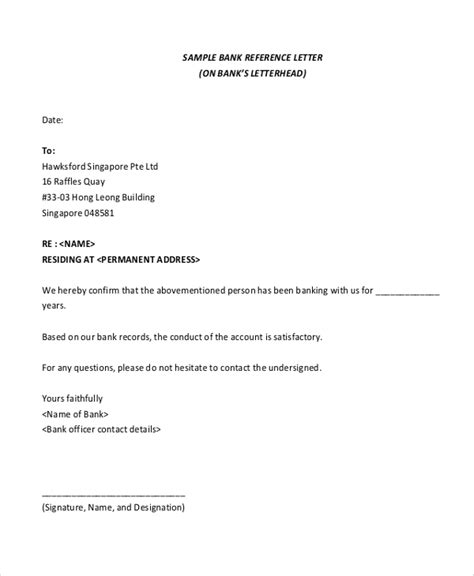 It could be written to request bank statements, facilitate an overdraft, loan, or report a lost atm card. Letter Template Providing Bank Details : 25 Best Proof of ...